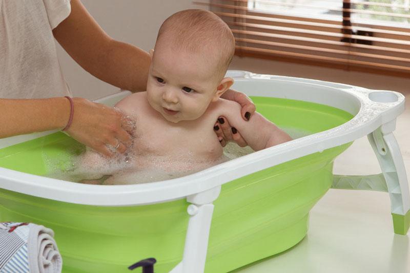 las-mejores-bañeras-para-bebe-plegables